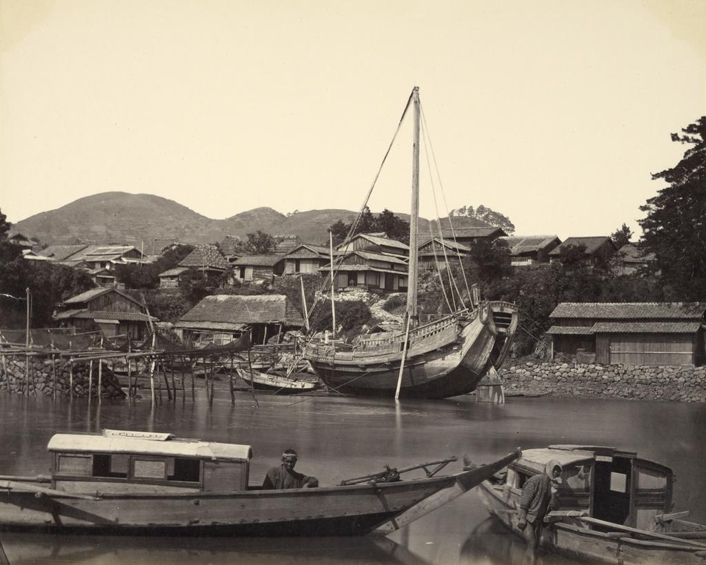 Nagasaki boats