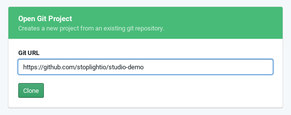 Start from an existing Git repo