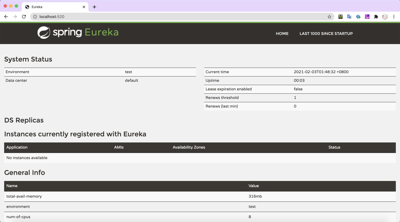 single-eureka-server