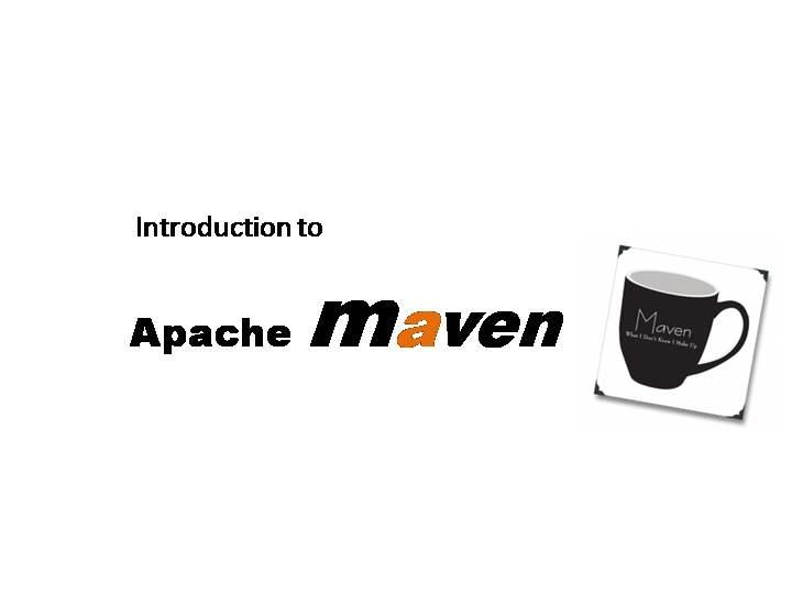 Apache Maven必知必会