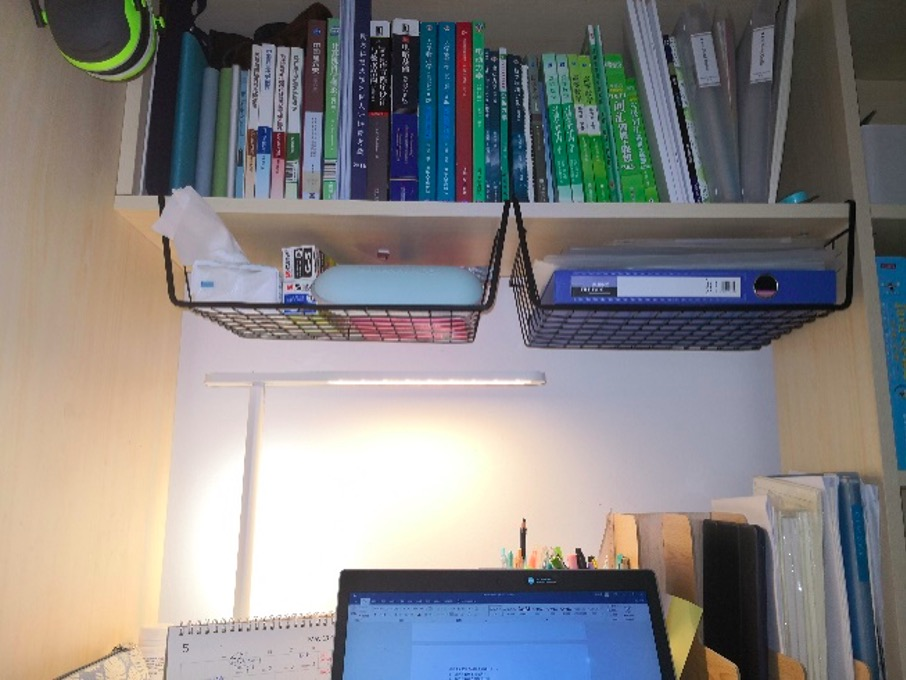 充分利用书柜
