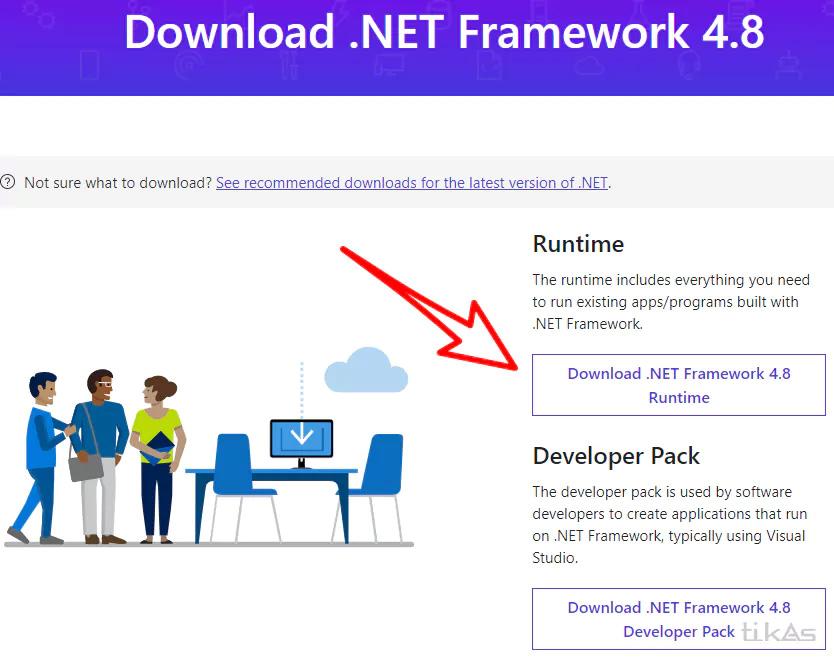 下载微软 .NET Framework 4.8