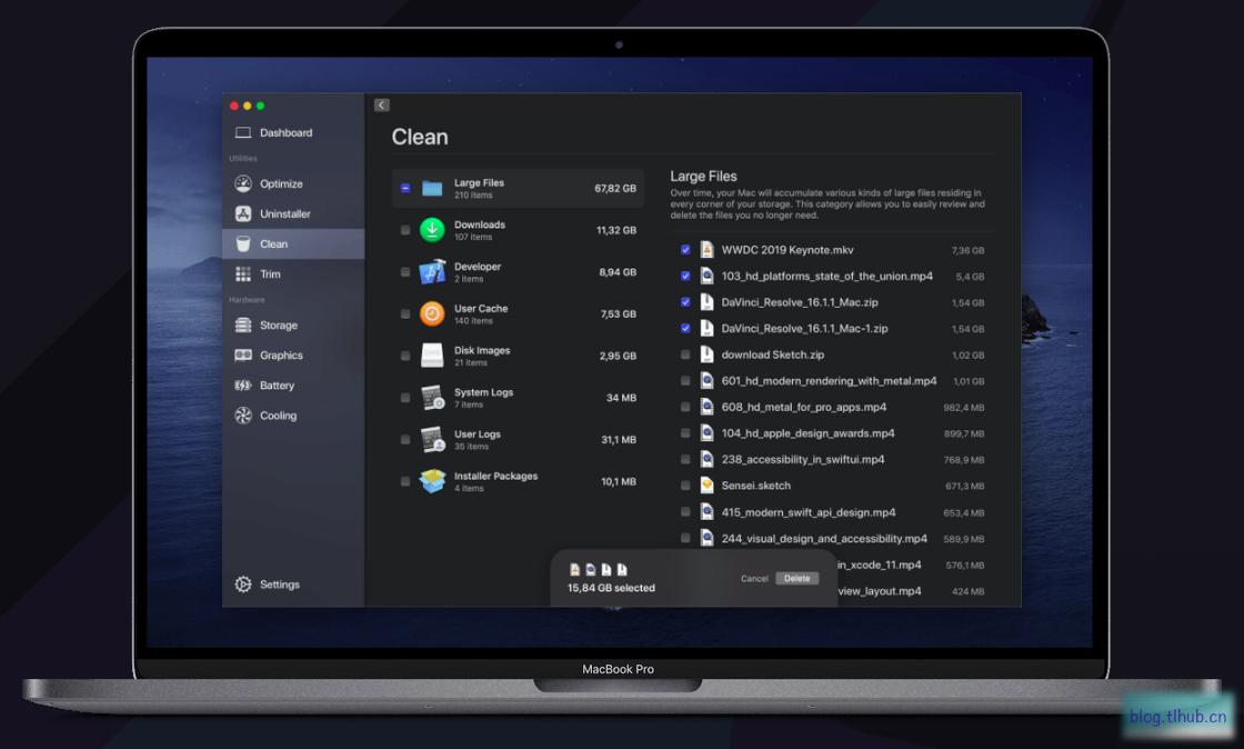 Sensei 1.2.3 Mac 新一代性能优化及清理工具