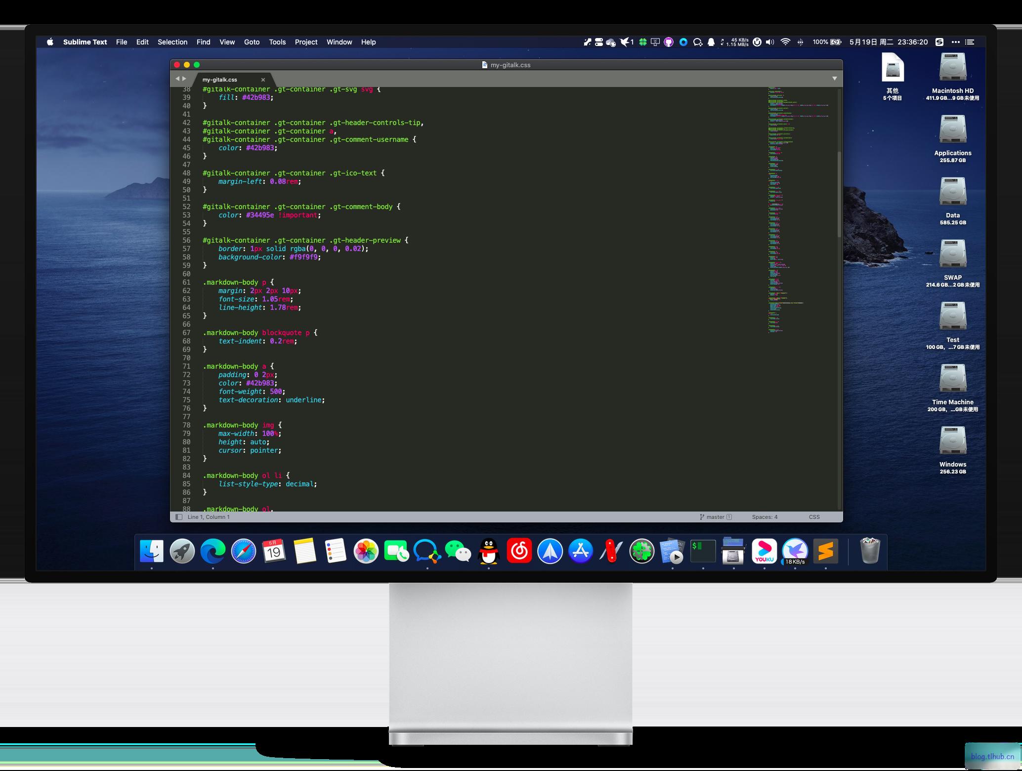SublimeText 4077 Beta 精致的文本编辑器