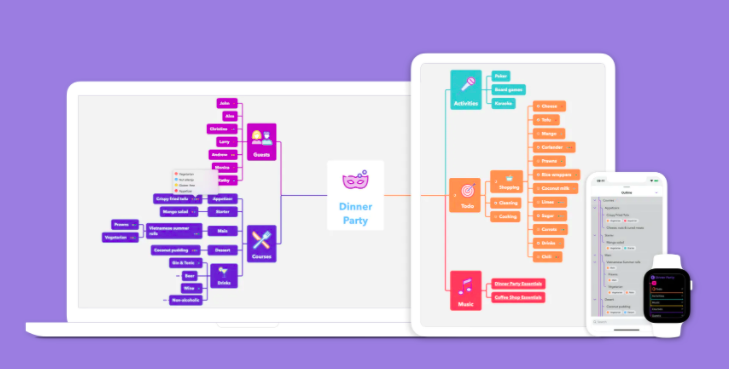MindNode 5.0.1 强大漂亮又简洁的思维导图软件