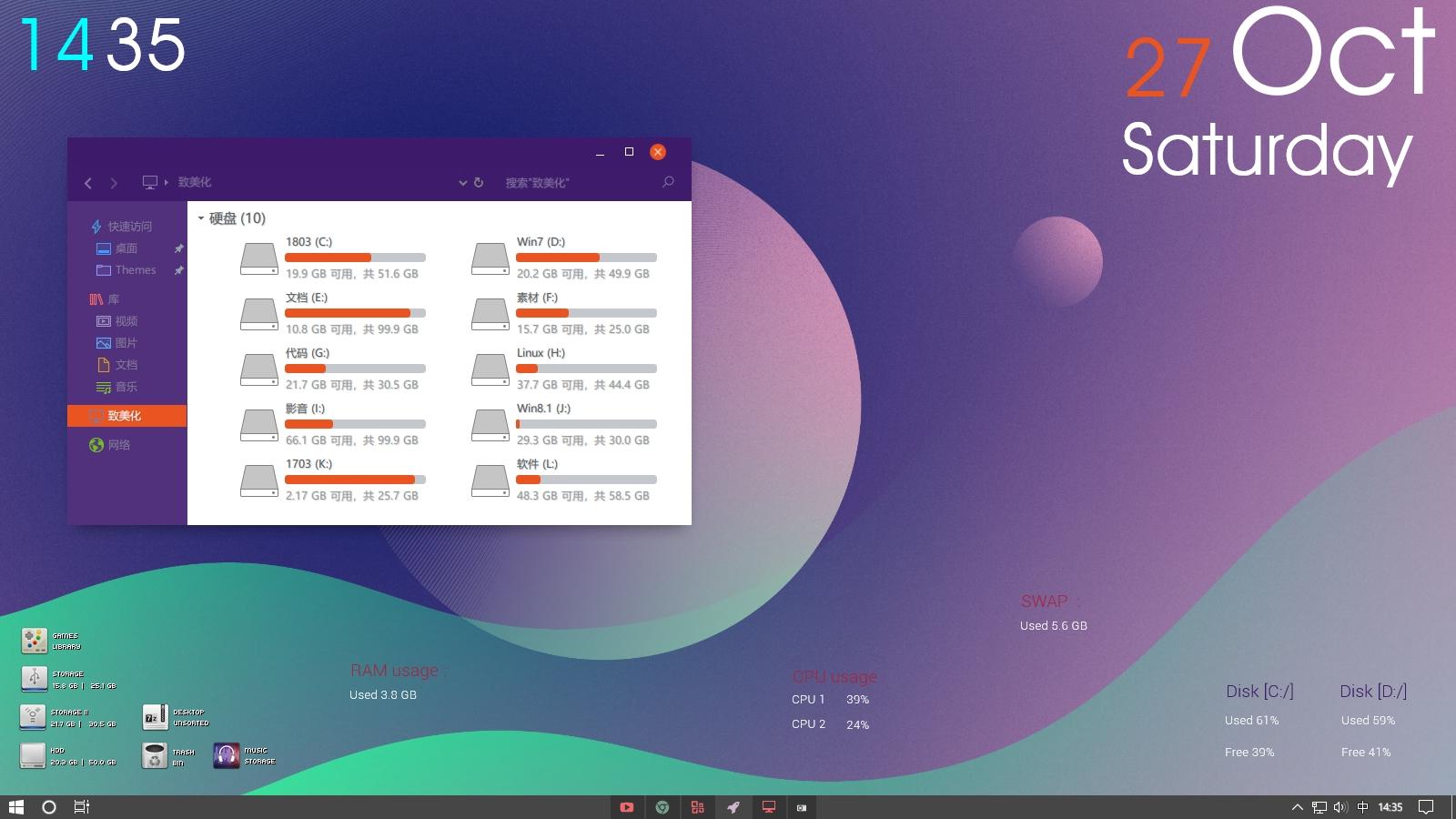 打造自己最喜爱的 Windows10 —— 主题美化教程篇插图(3)
