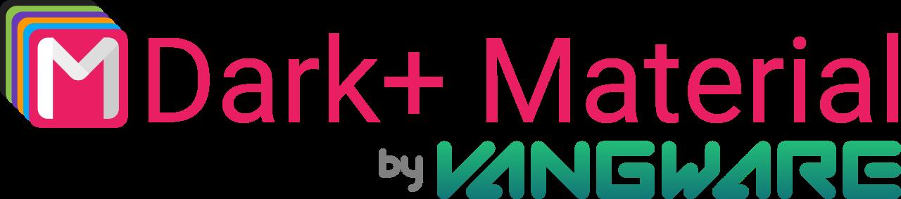 Dark+ Material logo