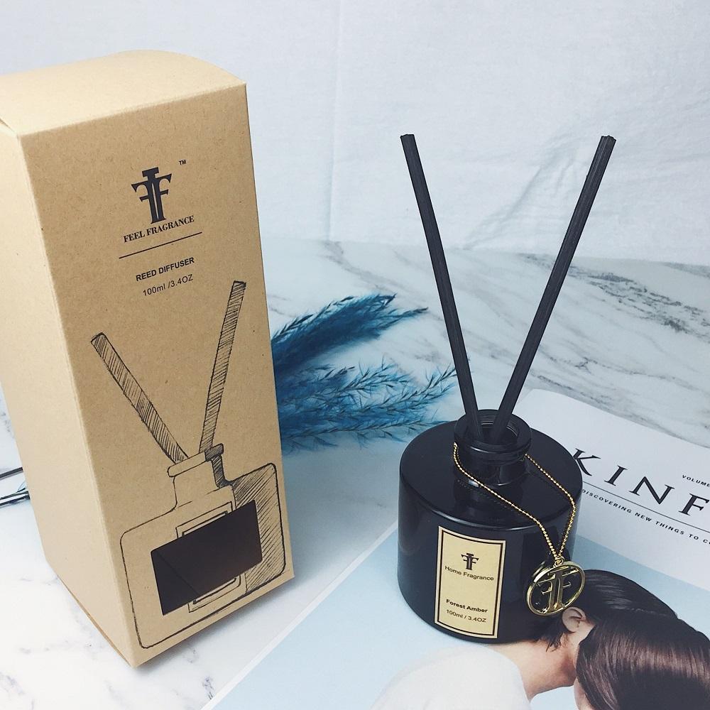 wholesale 100 ml Black bottle reed diffuser