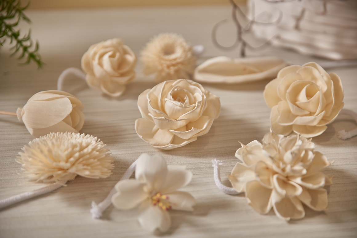Sola Wood Flower with Cotton Wire Wick