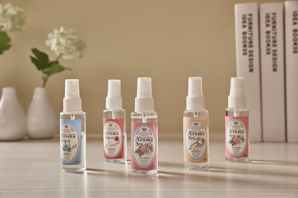 50ml PET Bottle Fragrance Room Spray
