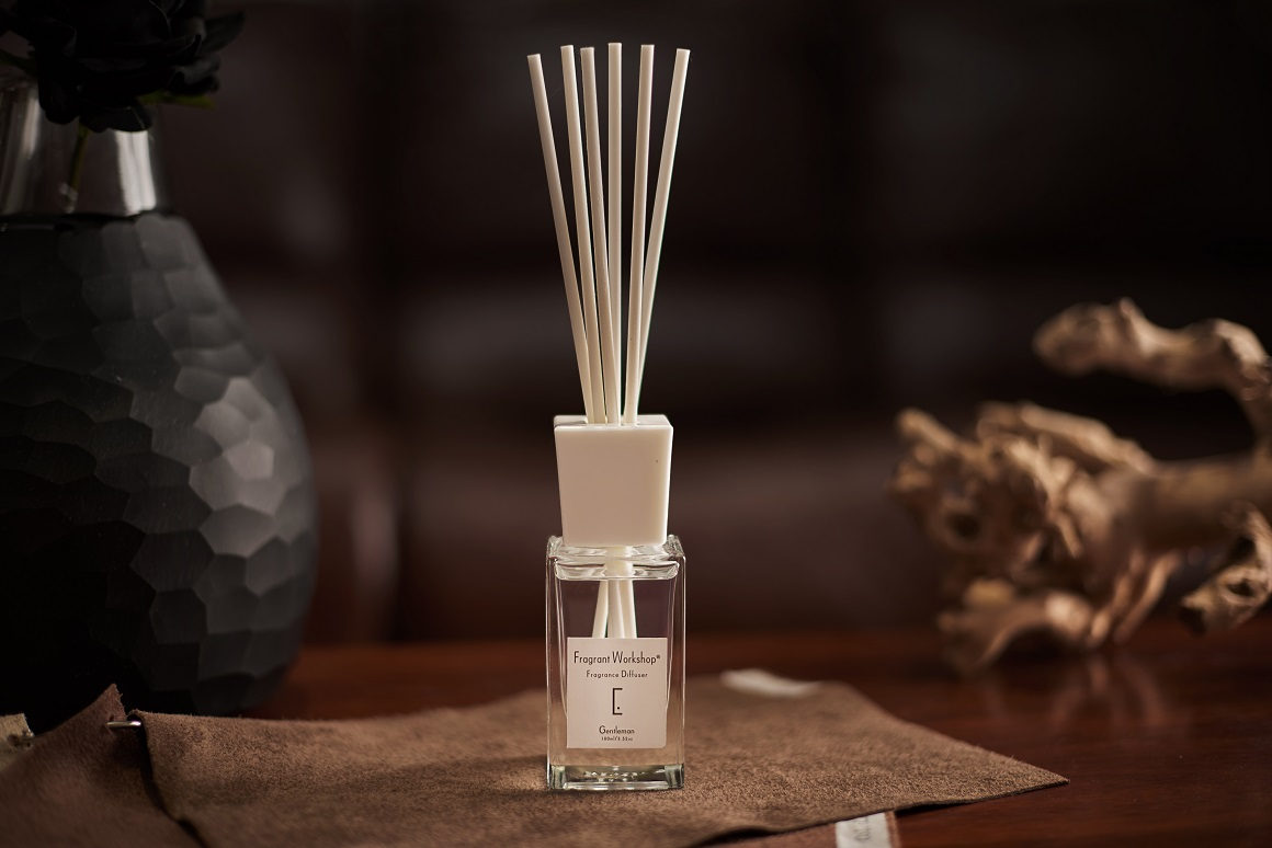 Fragrance reed diffuser 100ml with rattan sticks Gift Set