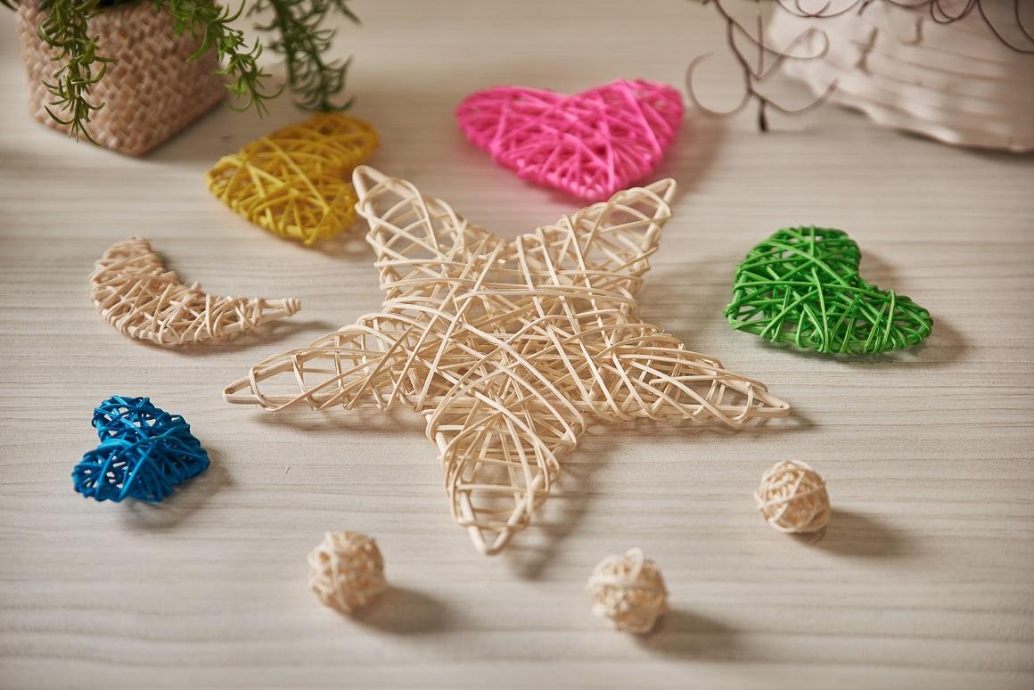 Replacement fragrance diffuser rattan balls sticks