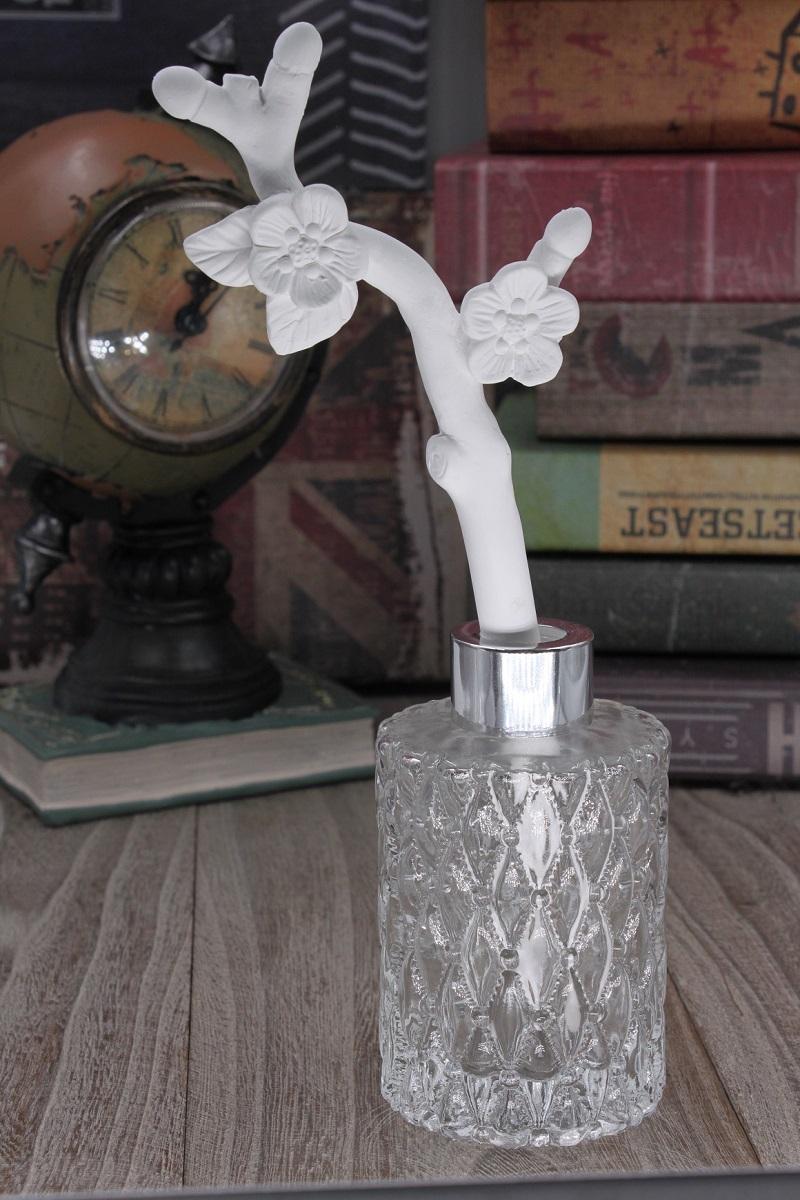 100ml Aroma Porcelain Flower Stick Diffuser.