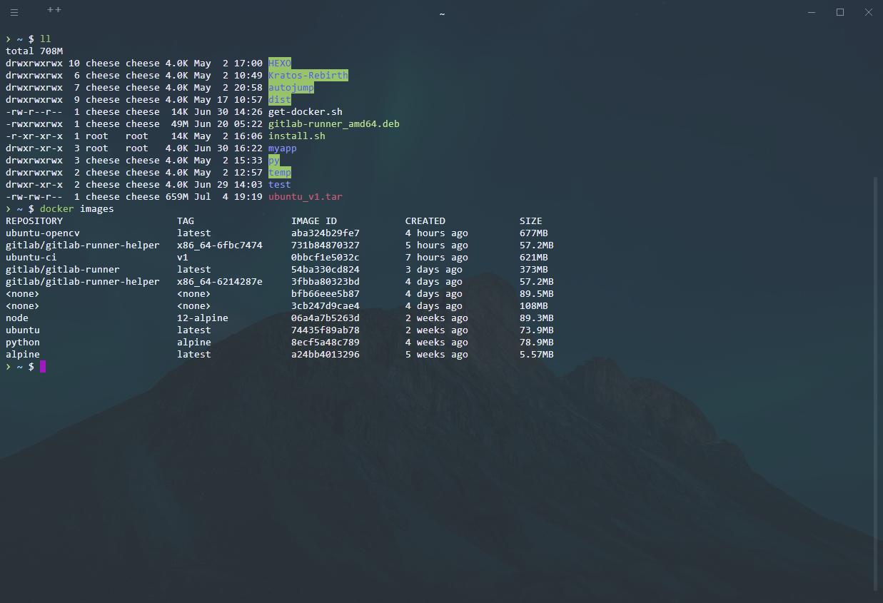 ubuntu-opencv 镜像