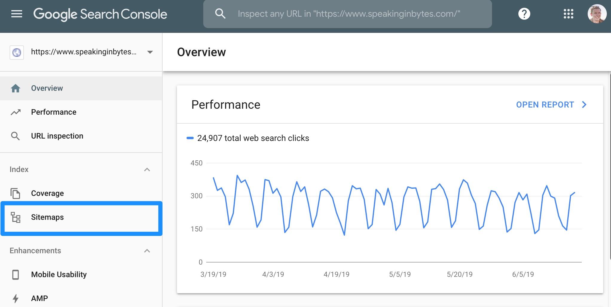 Gửi sơ đồ trang XML cho Google.