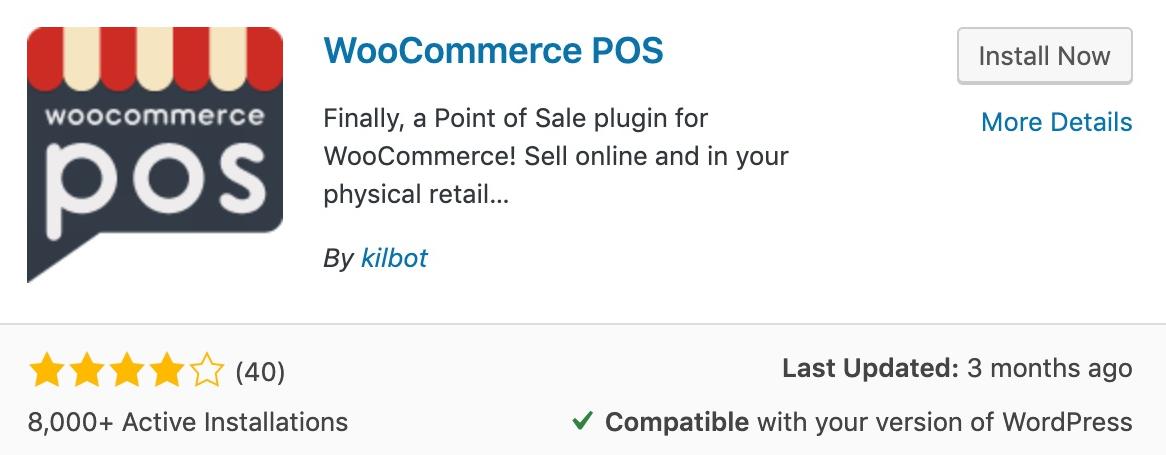Thiết lập WooCommerce POS.