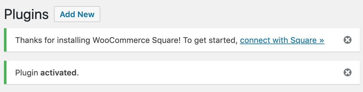 Kết nối với Square.