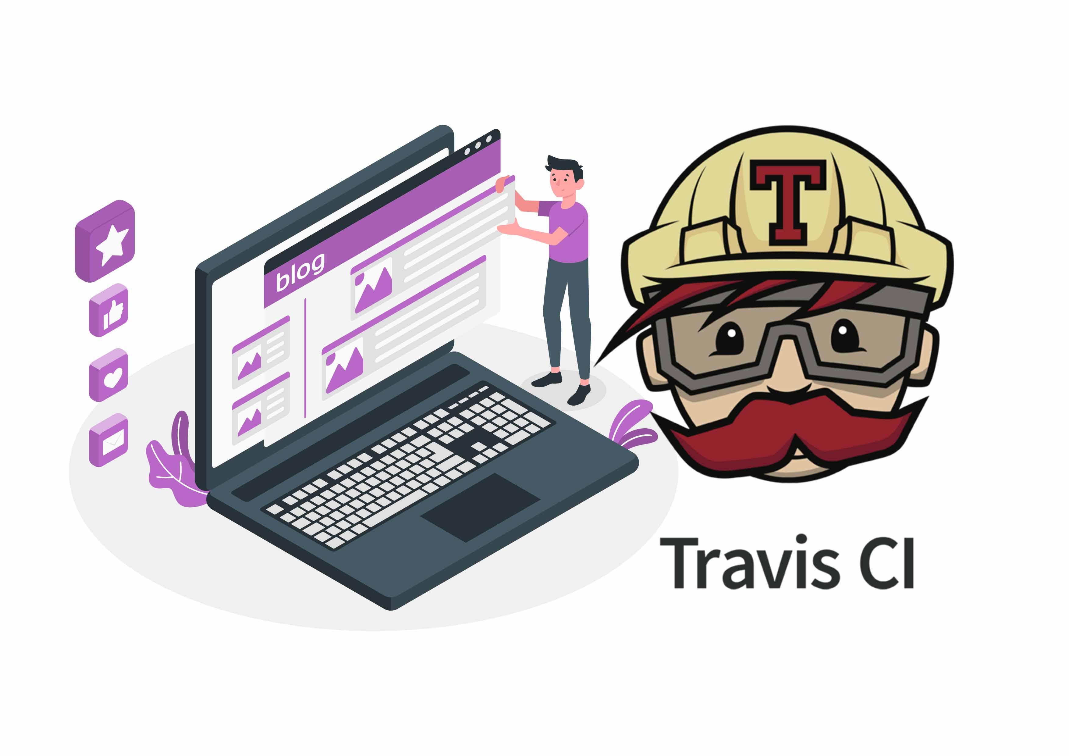 利用Travis-CI实现在线更新Hexo