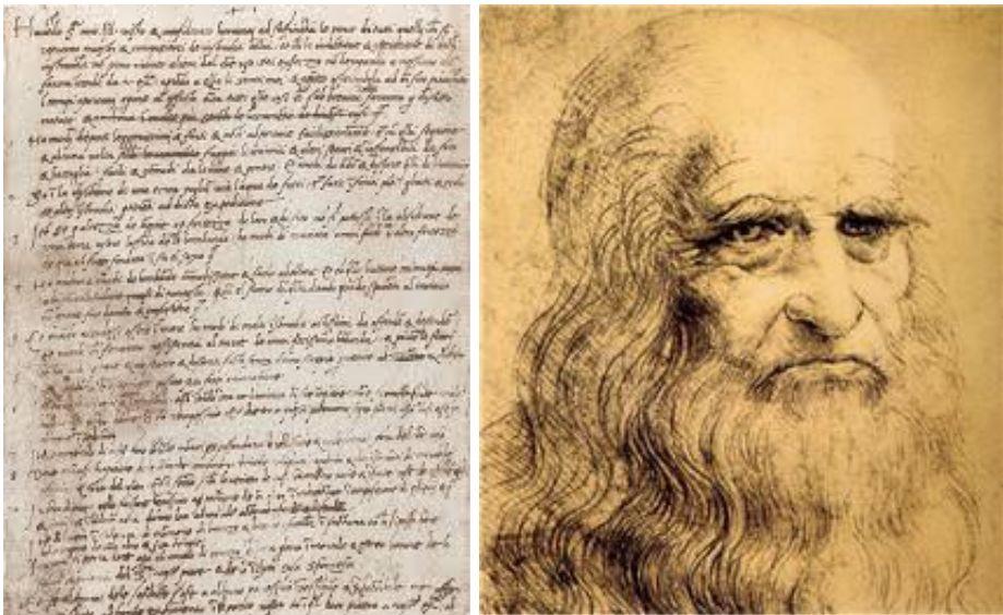 500 年前达芬奇求职信原件