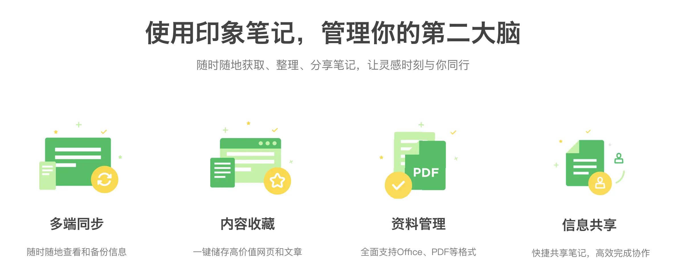 印象笔记官网介绍