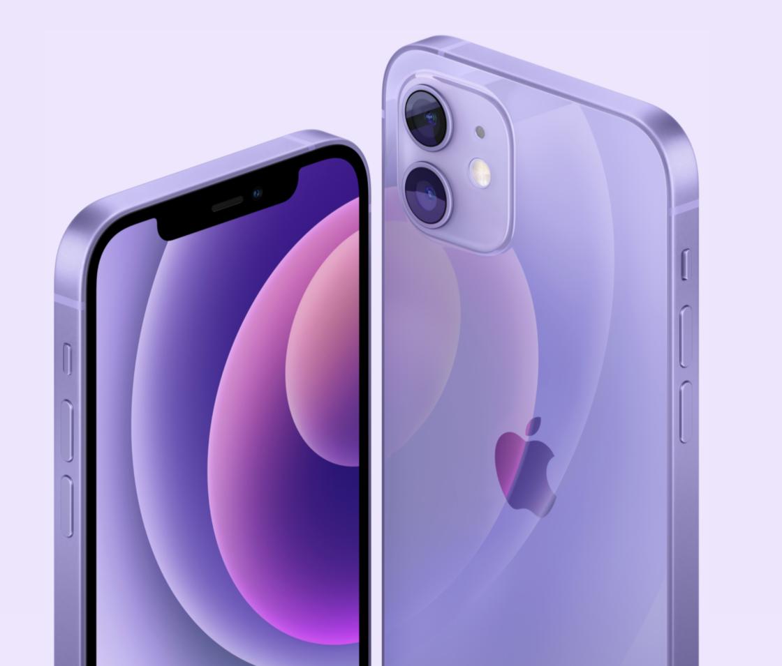 iPhone 12 系列增加紫色配色