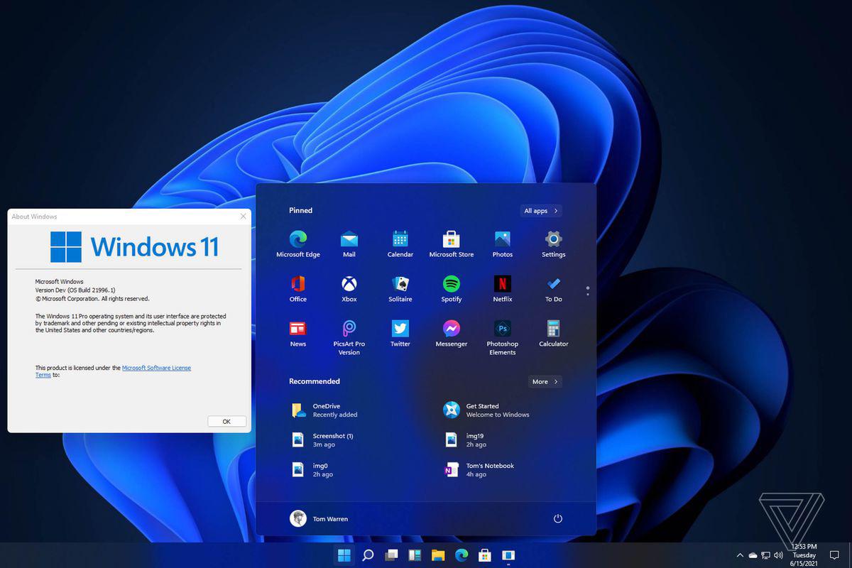 Windows 11 界面曝光