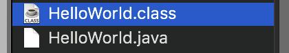 HelloWorld 源代码和字节码文件