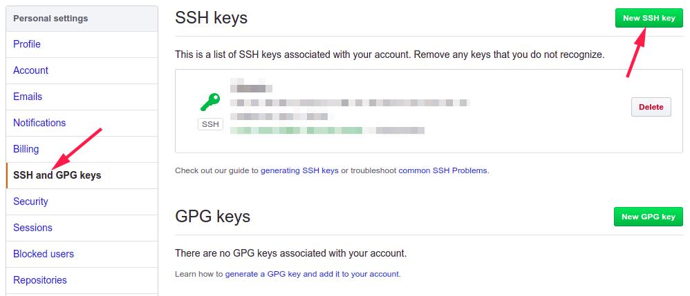 github-ssh-keys