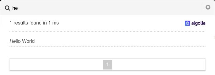 algolia-search