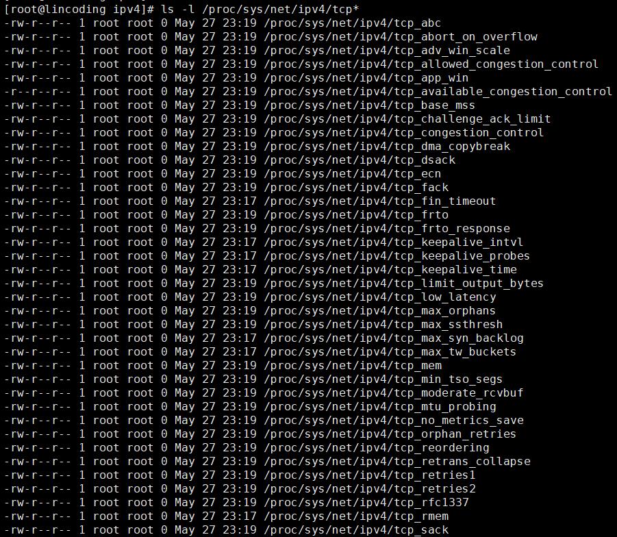 Linux TCP 参数