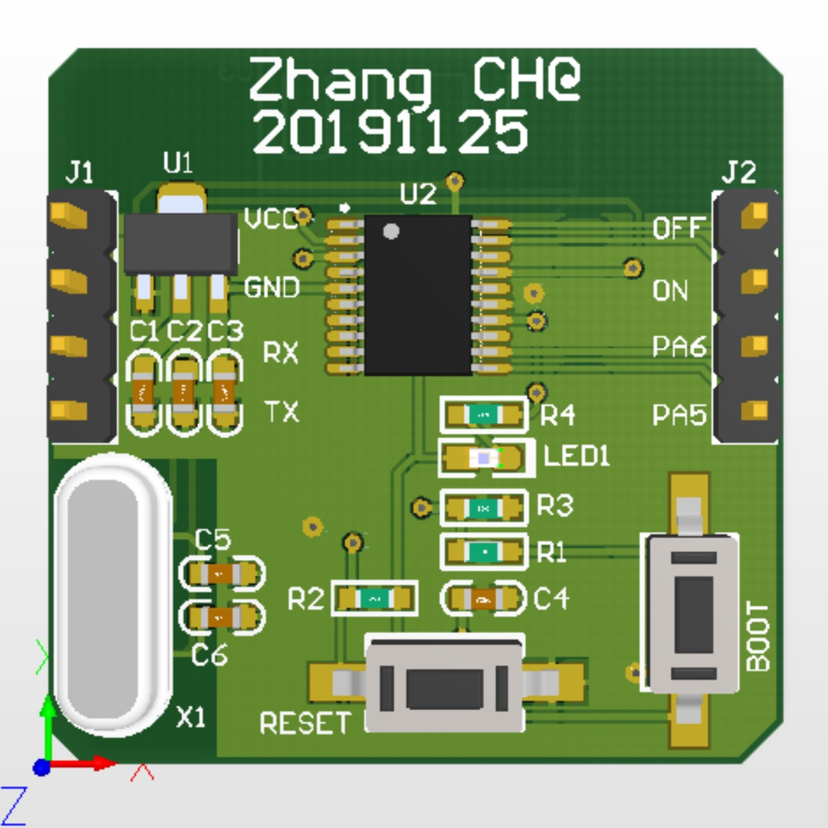 bluetooth-SecTry-PCB