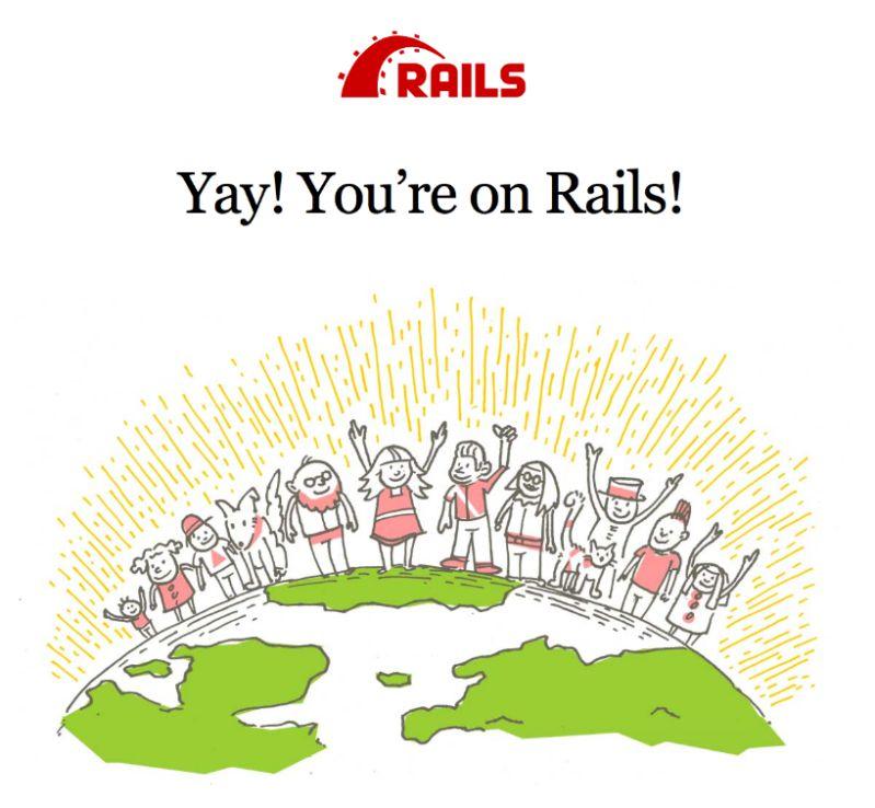 Rails 欢迎界面