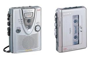 随身携带的磁带播放器