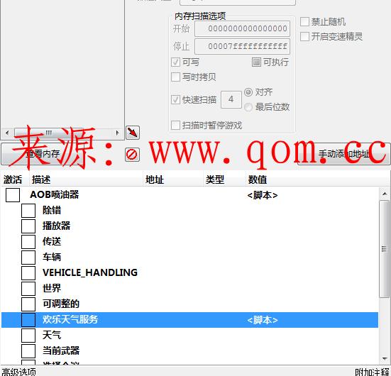 GTA5多功能CT+CEV1.10