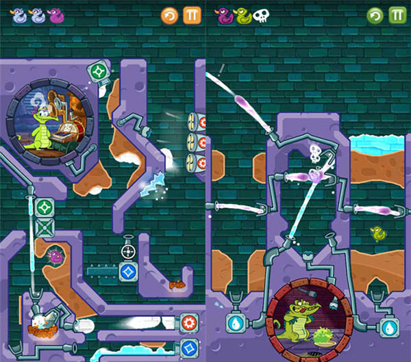 安卓一款★APP★鳄鱼小顽皮爱洗澡v1.19.0免费版已解锁/一款十分流行的休闲益智解谜手游