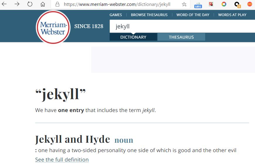 极客中心-词典中的Jekyll1