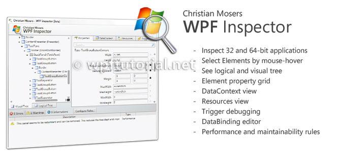WPF inspect-大白技术控