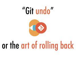 Git 中的各种后悔药