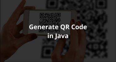 Java 中生成二维码(带 logo)