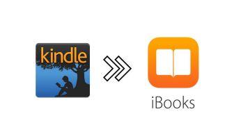 将 Kindle 电子书导入 iBooks