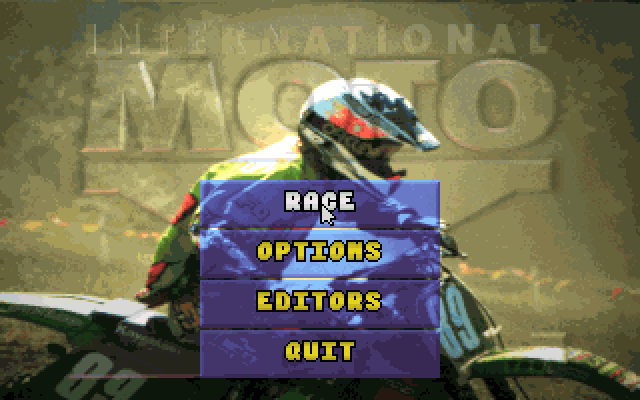 国际摩托赛的封面