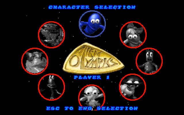 外星奥林匹克的封面
