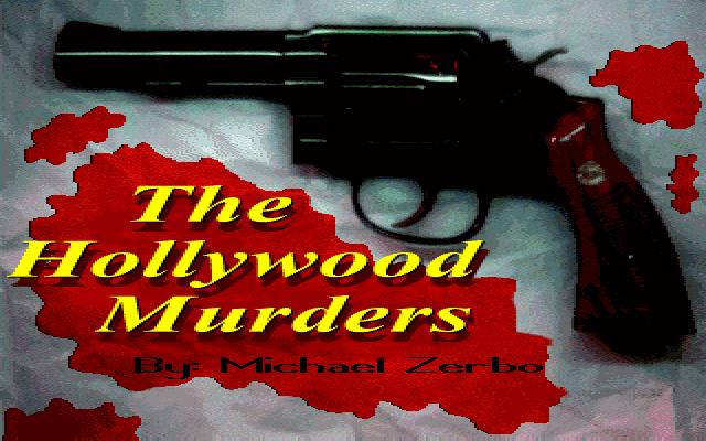 好莱坞谋杀案的封面