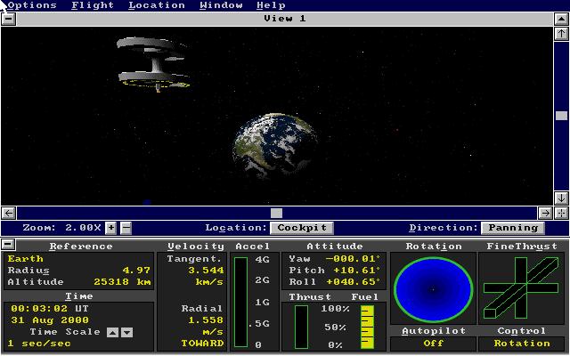 微软太空模拟的封面