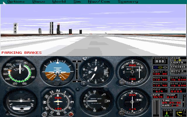 微软飞行模拟+3个资料片的封面