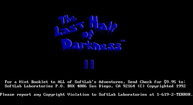 无尽的黑暗2的封面