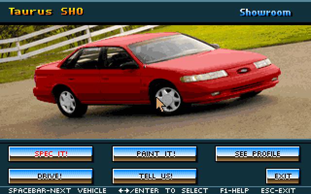 福特模拟驾驶的封面