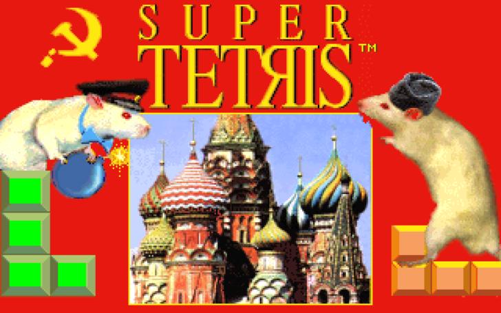 超级俄罗斯方块的封面
