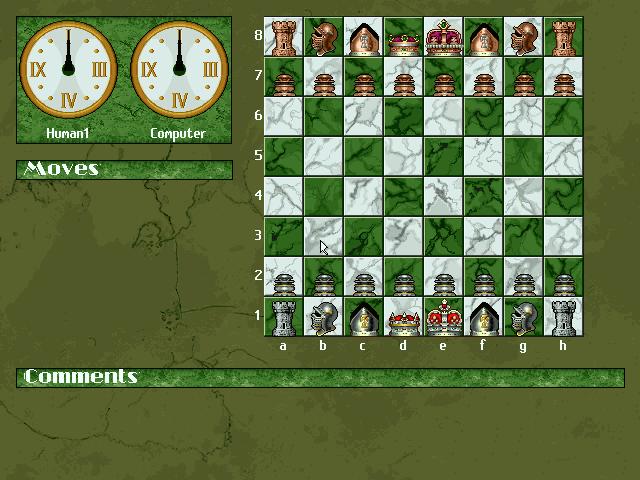 超级国际象棋2的封面