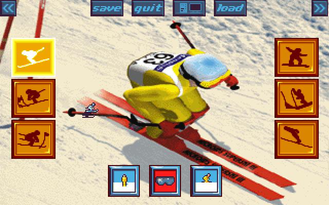超级滑雪专业版的封面